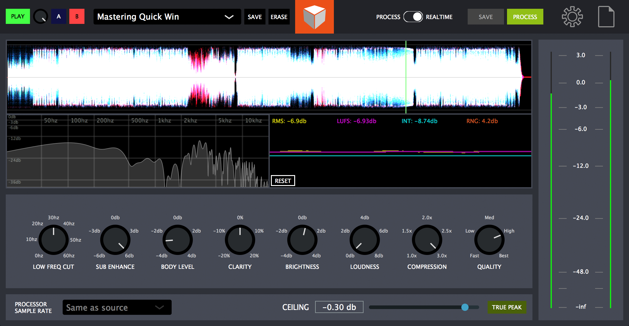 Blackbox Mastering Software